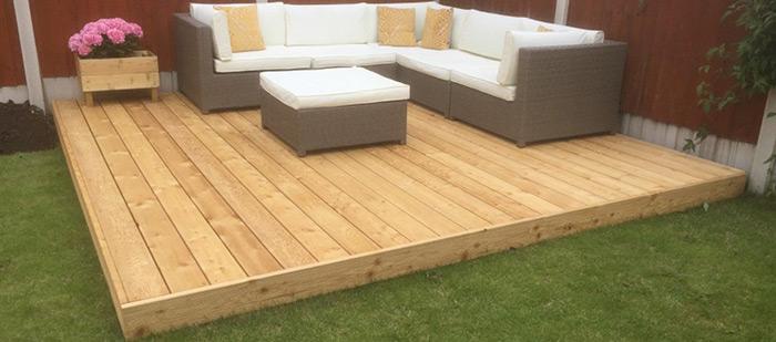 Timber decking Kits