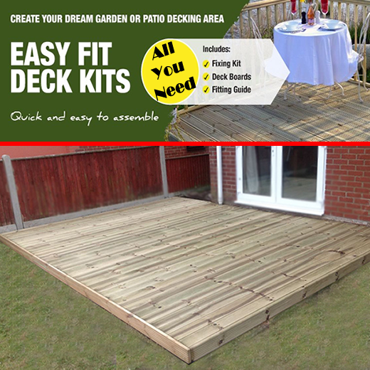 All You Need Complete Decking Kits Tised