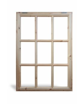 Georgian 9 Pane Opening Window
