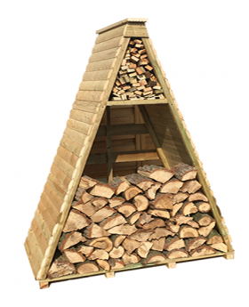 Pyramid Log Store, Tanalised