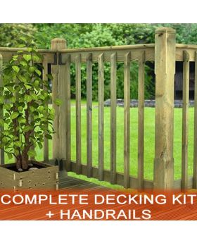 All You Need Complete Decking Kits + Spindles + Balustrade