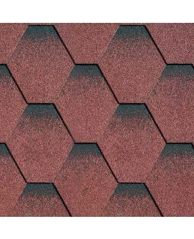Felt Shingles/Ridges Red
