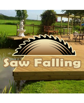 Grade A Saw Falling Decking Tanalised 32mm x 125mm