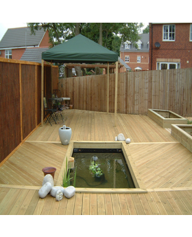 Economy Decking Tanalised 100mm x 25mm