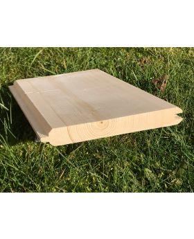 Grade A 19x125 Redwood Untreated Internal Cladding