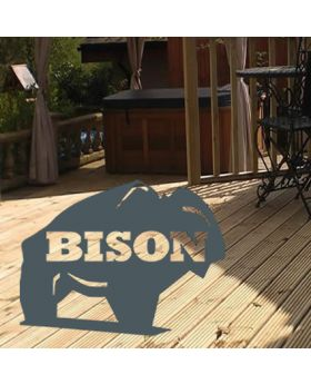 Grade A Bison Timber Decking Tanalised 38mm x 125mm