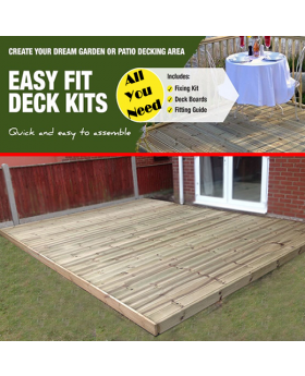 All You Need Complete Decking Kits, Tanalised