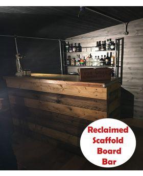 Scaffold Board Home / Garden bar