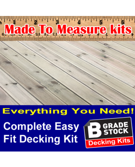 "All You Need ""B GRADE"" Complete Decking Kits"