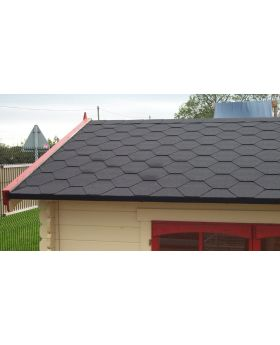 Felt Shingles/Ridges Grey